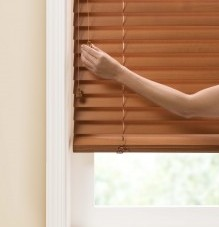 Wood Faux Blinds Enlighten Style